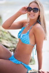 Tiffany Tiffany is a young and fun bikini with a pretty polka dot print you would be sure to stand out in its summer colours . Please Click the image for more information.