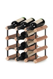 Bordex 12 Bottle Rack This Australian made wine rack is easy to assemble and is produced using natural hardwood timbers and baked enamel steel and is available in a range of sizes to fit any home or cellar space. Please Click the image for more information.