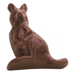 Kangaroo & Koala (pair) - soft buttery caramel in milk chocolate $4.00/pr These contain the same unique caramel as our other soft caramel chocolatesIndividually cello wrapped. Please Click the image for more information.