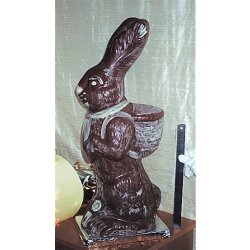 Handsome Harry Hare - milk chocolate - 620mm $165.00 Giant hollow milk chocolate bunny Hand painteddecorated with white chocolate is perfect for raffles or a big family surprise Ov. Please Click the image for more information.