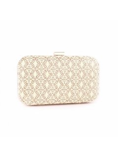 H0746B CREAM LACE EVENING BAG Please Click the image for more information.