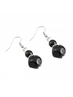 E0655A BLACK PEARL DROP EARRING Please Click the image for more information.