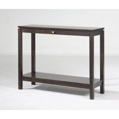 """Trend"" Timber 1 Drawer Hall Table with Shelf 100cm Chocolate The Trend Range of furniture will add the perfect touch to your home They are the ideal combination of style versatility and great value for money Ava. Please Click the image for more information."