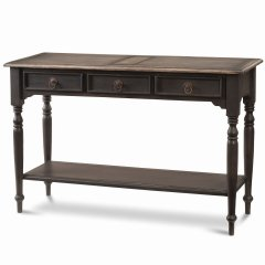 """Hamptons House"" Tucker 3 Drawer Sofa Hall Table with Shelf a classPinkARRIVING IN 8 WEEKS  BACK ORDER NOWaCustomise items with any of our wide range of finishes colors and stainsEach Item you see o. Please Click the image for more information."