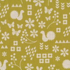 Garden Dutch Garden Olive Garden is a contemporary collection of fabrics by designer Ellen Luckett Baker for Kokka This collection is inspired by the blockprint look and being printed on a lovely cottonlinen blend this fabric will definately make a statement in the home as cushions or lampshades or whip up a striking bag or skirt Please Click the image for more information.