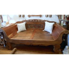 AW 4692 Antique Javanese Boat Teak Daybed  Antique Javanese Boat Teak Daybed  Please Click the image for more information.