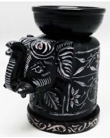 Three Piece Elephant Oil / Wax Melt Burner - $15.00 Three Piece Elephant Oil  Wax Melt Burner  25 Inch Please Click the image for more information.