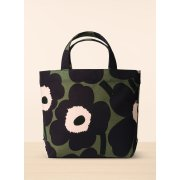 Veronika Unikko Handbag Made of cotton canvas this Unikko print handbag has a magnetized top snap closure and an interior zip pocket . Please Click the image for more information.