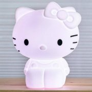 Hello Kitty Lamp The lamp comes with remote controlled LEDlighting where you can completely adjust the colour and light intensity to the style of your living room or bedroom your mood and the occasionTh. Please Click the image for more information.