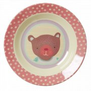 RICE Kids Melamine Bowl Happy Camper Girl RICE is a Danish home wares and accessories company They are known for their colourful melamine handmade baskets and storage and our hand glazed Italian tablewareThe. Please Click the image for more information.