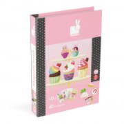 Large Magnetibook Cupcakes Yum my tummys rumbling Create your own cupcake masterpiece with some of the 40 magnets supplied or use one of 10 picture cards to copy one already designed Pr. Please Click the image for more information.