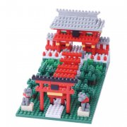Inari Shrine Nanoblock is a miniature building block system from Japan The smallest blocks measure just 4mm x 4mm  The smaller the blocks the better the detail  Each. Please Click the image for more information.