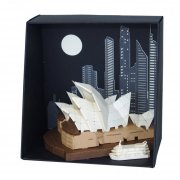 Paper Nano Sydney Opera House The Paper Nano Sydney Opera House Building Set is a smallscale highlydetailed  papercraft that takes architecture to a new level Lasercutting technology allows you to build these worldfamous sites in intricate detail like never before The pa. Please Click the image for more information.