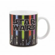 Star Wars Lightsaber Heat Change Mug You wont need the force to alter the image on this Heat Change Mug Simply fill with a hot drink and watch the full range of lightsabers suddenly activate on this fantastic Star Wars design mugThis. Please Click the image for more information.