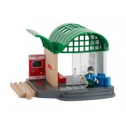 BRIO Train Station Founded in Sweden in 1884 Brio makes the highest quality wooden toys that have delighted children and created happy memories for generations . Please Click the image for more information.