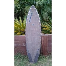 Eco Raptor This is a modified version of our little Buddha board  The nose is pulled in slightly and the width is 21 in stead of 22 that it was on the Buddha medium nose rocker in the front but low rocker through the tail the tail has been pulled in and stepped and finishes in a large diamond tail shape for that hybrid feeling it has a large double concave starting from the front foot going right through to the tail It has gearbox centre and side fin boxes 510 x 19 58 x 2 12CONSTRUCTIONCustommade shape Supersap Bio Epoxy. Please Click the image for more information.