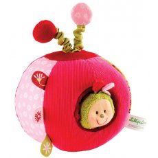 Lilliputiens - Liz Activity Ball  A small charming ladybird Liz lives inside this luxuriously tactile activity ball Gently pull Liz out to say hello and then pop her back into her hiding spot Ro. Please Click the image for more information.