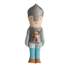maileg knight rattle Wearing fabulous authentic clothes including chainmail silver body armour with a gold cross silver helmet trousers and shoes  L. Please Click the image for more information.