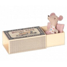 maileg little sister in box A Maileg classic Little Sister Mouse with delightful details from nose to tail Tuck her into her matchbox with quilted bedding B. Please Click the image for more information.