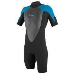 O'Neill Youth Hammer S/S Spring ONeil Youth Hammer Short Sleeve Spring Wetsuit come with 2mm highstretch Neoprene Flat Lock Seams and a Back Zip Please Click the image for more information.