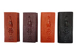 Croc Leather Wallet Croc Flap leather wallet which folds open Great design and colourful Inside two windows and 10 card holders I. Please Click the image for more information.