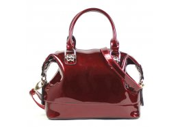 Genuine Patent Leather Bag Genuine patent leather bag with a shoulder strap  Please Click the image for more information.