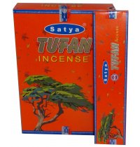 Satya Tufan Incense 20gms (B/12) Satya tufan Incense aroma awakens your mind and gives a sense of well being A fresh woody scent with musk and hint of floral tones from the manufacturers of Satya Nag Champa incense. Please Click the image for more information.