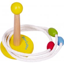 *NEW* S13073 Wooden Quoits Set Pipa Lupina Brand SpiegelburgA colourful version of this popular game of skill  who can be the first to hit the pole with the three rings The pole can easily be assembled and disassembled and stored together with the rings in the enclosed cotton bagMade fr. Please Click the image for more information.