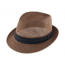HB SU-003Brn Dexter Fedora Hat  Brown Please Click the image for more information.