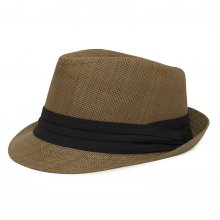 HB SU-002Brn 59 Fedora II Brown 59 cm Please Click the image for more information.