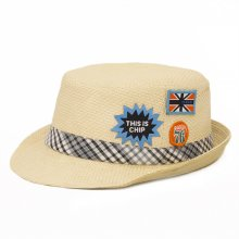 HB SK-005Nat54 Chimp Kids Fedora  Natural 54 cm Please Click the image for more information.