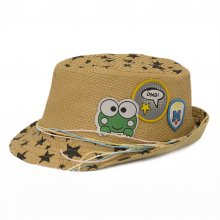 HB SK-006Brn52 OMG Kids Fedora  Brown 52 cm Please Click the image for more information.