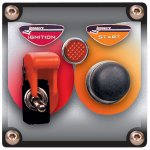 Flip-up Start / Ignition switch panel with pilot light High capacity 40 amp at 12 volts ignition switch with aircraft style cover and pilot light  Easy to turn off in an emergency from any angle even with gloves Wil. Please Click the image for more information.