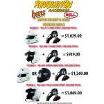 BELL HELMET AND HANS PACKAGE DEAL REVOLUTION RACEGEAR SUPER BELL HELMET AND HANS PACKAGE DEALS Please Click the image for more information.