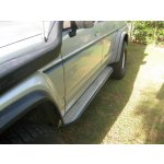 GQ LWB Alloy checkerplate top sliders GQ LWB gusseted aluminium checkerplate top slidersThese are the ideal upgrade while still retaining the factory styling and usability of side steps Ma. Please Click the image for more information.