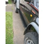 GQ LWB Steel checkerplate top sliders GQ LWB gusseted steel checkerplate top slidersThese are the ideal upgrade  while still retaining the factory styling and usability of side steps Ma. Please Click the image for more information.