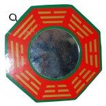 Bagwa Mirror, Red & Green, 100mm diameter Bagwa Mirror Red  Green 100mm diameter Please Click the image for more information.