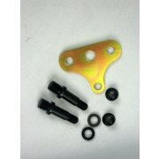 Wisbone locater mount kit Wishbone track locater mount 2 studsWashers 12 point nuts Center bolt and chromoly mounting tab with brake line holder. Please Click the image for more information.
