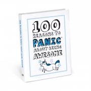100 Reasons to Panic about Being Awesome Like a paper version of your funniest friend this pocketsized volume provides an honest look at what its actually like to be undeniably awesome while also offering commonsense reassurance that everythings going to work out fine Probably. Please Click the image for more information.