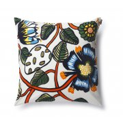 Tiara Cushion Cover The new Tiara print decorates this square pillow sham Its made of heavyweight cotton and has a side zip closure Not. Please Click the image for more information.