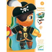 Magnet Aventuro Create your own pirate and wildwest themed adventures with this magnetic set Includes a selection of adventurethemed magnetic pieces and a shaped metallic box Dress. Please Click the image for more information.