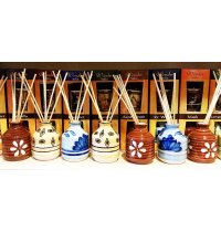 CERAMIC REED DIFFUSER 100ML Reed diffusers are used to freshen up the fragrance around the home or office This is a 100ml diffuser gift set with a ceramic pot base to hold the fragrance and 8 reed sticks to diffuse the aromas. Please Click the image for more information.