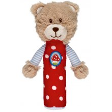 *NEW* S12607 Squeaker Bear - Baby Charms  Brand SpiegelburgThe fun squeaking noises of this cute little bear will put a smile on every babys face Made from . Please Click the image for more information.