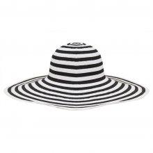 HB SL-002Blk Belina Sun Hat blackwhite Please Click the image for more information.