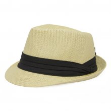 HB SU-002Nat 59 Fedora II  natural 59cm Please Click the image for more information.