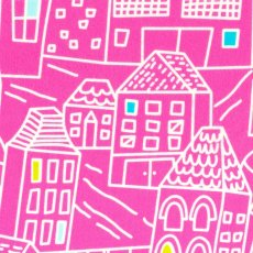 Irving Street Downtown Flannel Pink Irving Street Downtown is a lovely soft flannel with a gorgeous city  street scape design by Erin McMorris . Please Click the image for more information.