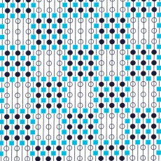 Geo Style Checker Board Blue  Please Click the image for more information.