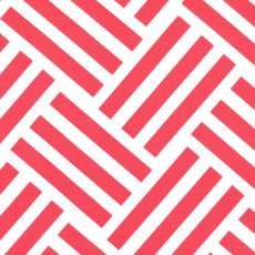 Bekko Parquet Wide Width Coral Bekko Parquet is a striking largerscale cross hatch geometric design printed on a lovely medium weight 100 cotton sateen Sui. Please Click the image for more information.