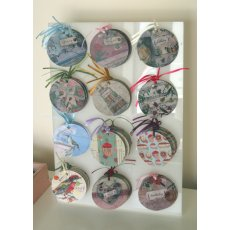 Acrylic tag stands A3 size Fits 12 tags with a maximum of 12 of each 12 of eachPackage Code 152002 Tag stand filled with your selection of 144 tags 12 kinds x 12 from our rangesStand alo. Please Click the image for more information.