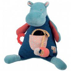 moulin roty papoum activity hippo  Brand New Hippo activities Papoum by Moulin RotyOur new moulin roty hippo is so huggle and has a number of activities to awaken your babies senses   th. Please Click the image for more information.
